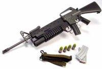 M-16 w/firing M203!
